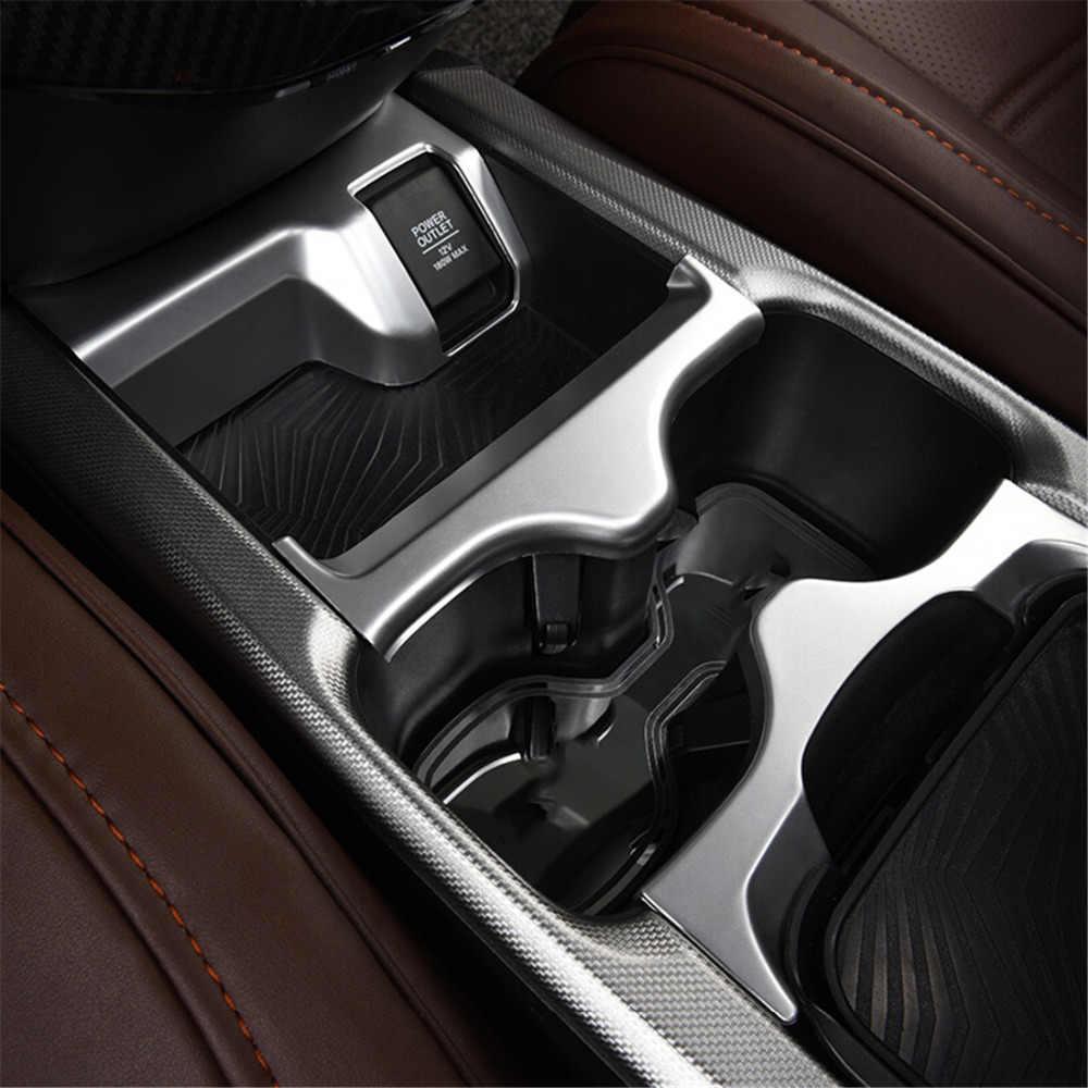 Laipi Auto Trim Interior Decor Car Accessory Water Cup Holder Panel ABS for Honda CRV