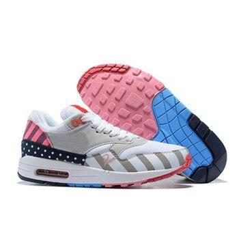 61067c0c73 Piet Parra x 1 Running Shoes Men White Multi Rainbow Park | Huarache ...