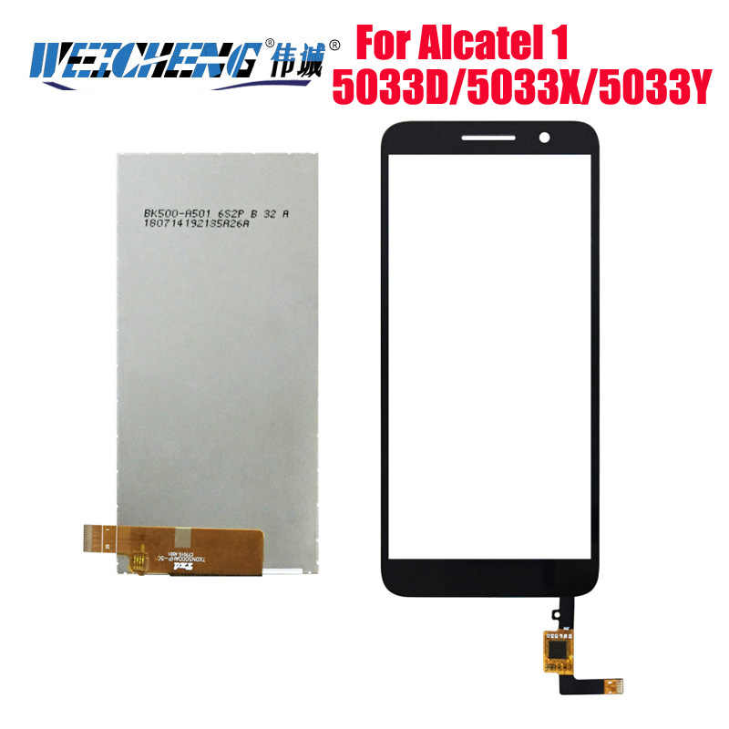 Für Alcatel 1 5033 5033A 5033J 5033X 5033D 5033T Monitor LCD Display Digitizer Touchscreen Für Telstra Ätherisches Plus 2018