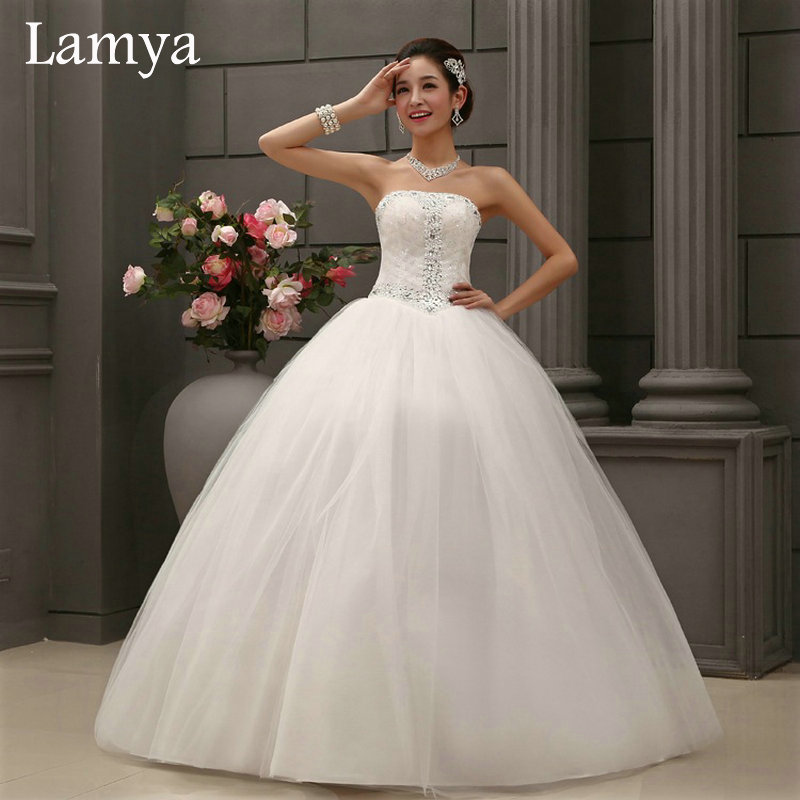Online get cheap ball gown wedding dresses uk aliexpress for Budget wedding dresses uk