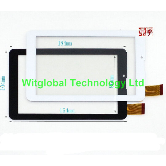 New touch screen For 7 Supra M728G M727G Tablet Touch panel Digitizer Glass Sensor Replacement Free Shipping original new touch screen digitizer 7 blueberry netcat m23 tablet outer touch panel glass sensor replacement free shipping