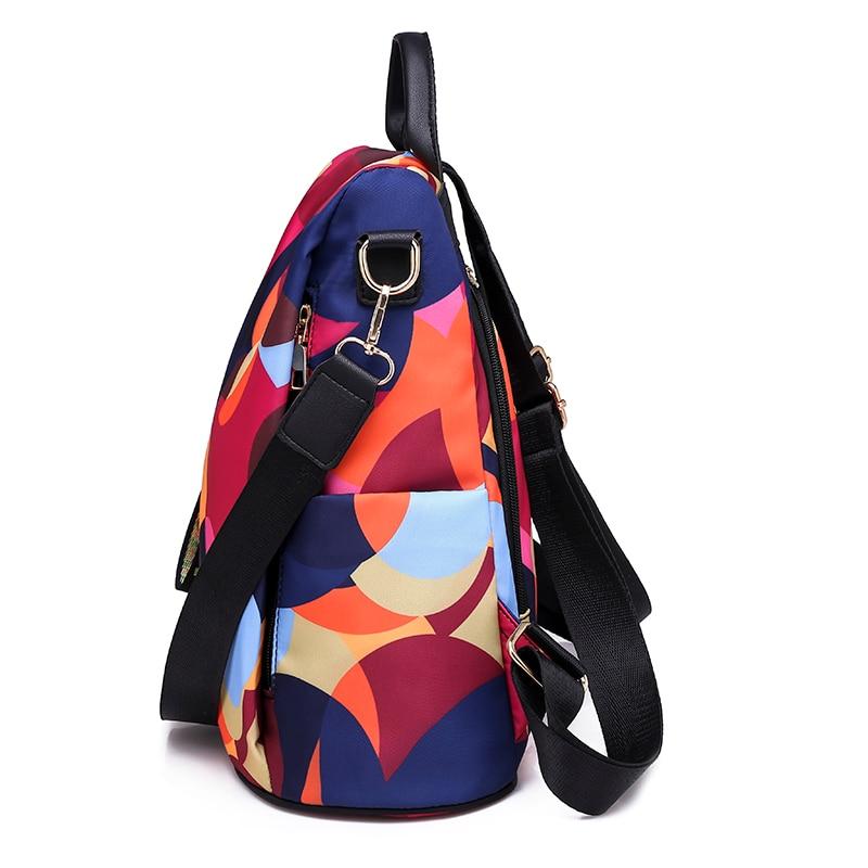 Fashion backpack women shoulder bag large capacity women backpack school bag for teenage girls light ladies travel backpack