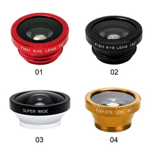 3 in 1 Wide Angle Camera Mobile Phone Fish Eye Lens