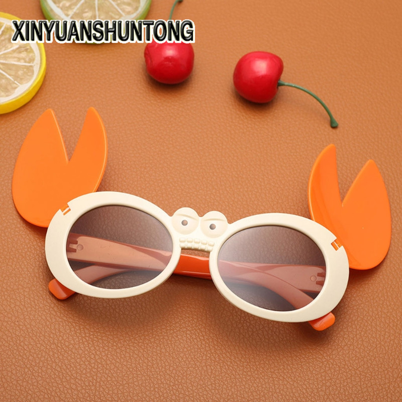 XINYUANSHUNTONG 3D Glasses Kids Crab Frame Passive Polarized Stereo 3D Glasses For RealD 3D Cinema Television