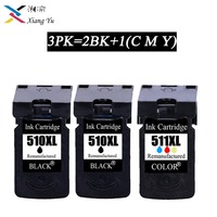 3PK PG/pg510 CL/cl511 Compatible ink cartridge PG 510 CL 511 for Canon Pixma IP2700 MP240 MP250 MP260 MP270 MP280/480 printer