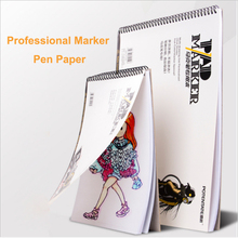 A3/A4 Sketch Painting Marker Paper For Drawing Pen Pad Book School Student Artist Tools