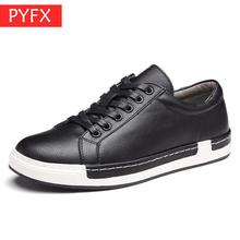 Autumn New black hot sale Luxury Mens Fashion High-grade Leather Surface Leisure Comfortable Italian Handmade Flat-soled Shoes