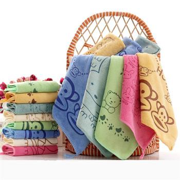 3 sztuk partia ręcznik dla dzieci śliczne superfine fibre Kid ręczniki myjka plac ręcznik dzieci kuchnia łazienka wytrzeć #8230 tanie i dobre opinie Microfiber 7-9 miesięcy 10-12 miesięcy 2 lat w górę 13-18 miesięcy 19-24 miesięcy 0-3 miesięcy 4-6 miesięcy CN (pochodzenie)