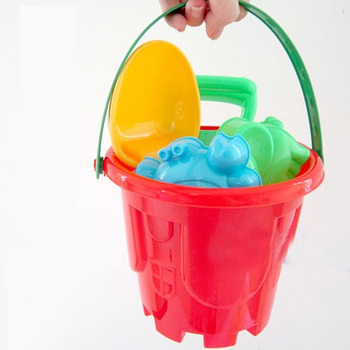 SLPF7 Piece Set Tuba Children Beach Toys Bucket Shovel Scorpion Sand Mold Summer Hot Play Water Kids Play House Outdoor Game G35 4