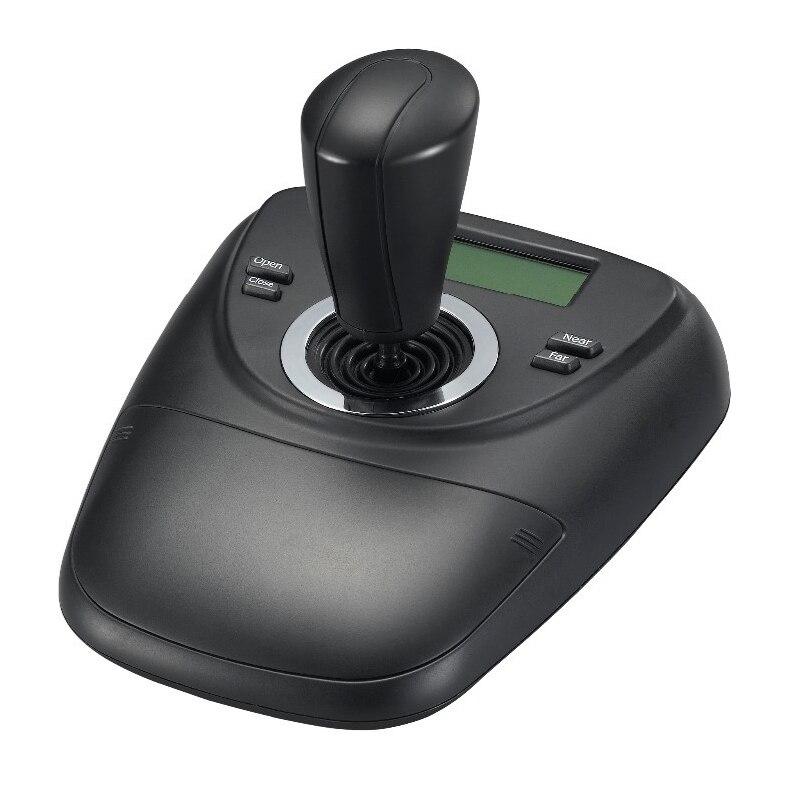 Contrôleur de clavier analogique RS485 PTZ LCD chaud PELCO-D/affichage PLCD pour contrôleur de vidéosurveillance de caméra à inclinaison panoramique à dôme de vitesse analogique