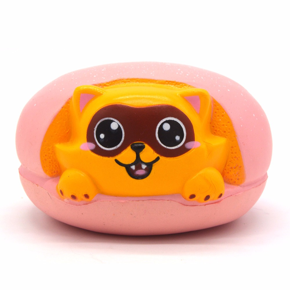 Colossal Slow Rising Squishy Raccoon Hamburgers Scented Cute Animal Original Package Kids Gift ToyColossal Slow Rising Squishy Raccoon Hamburgers Scented Cute Animal Original Package Kids Gift Toy