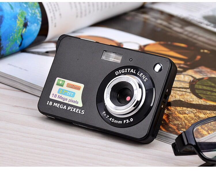 Appareil photo numérique Camaras 2.7in Ultra-mince 18MP HD CDC3/K09 appareil photo numérique pour enfants