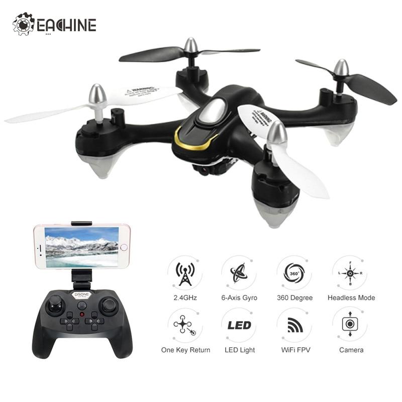 Eachine E33W WiFi FPV Mit Kamera Headless Modus LED-Licht für RC FPV Drone Quadcopter Hubschrauber Spielzeug RTF VS E50 E52 E50S