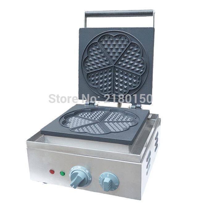 Elettrico a Forma di Cuore Stampo Waffle Maker Mini Plaid Torta Che Fa La Macchina Forno di Riscaldamento Della Macchina FY 215 - 2
