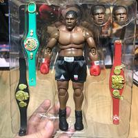 StormToys 1/12 Boxing Tyson Boxer Champion Mike Tyson 8 inch 19cm joint movable Action Figure Three Head Face Model