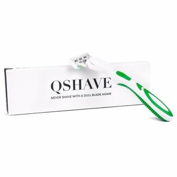 Бритвенный станок для женщин Qshave Green Series 6