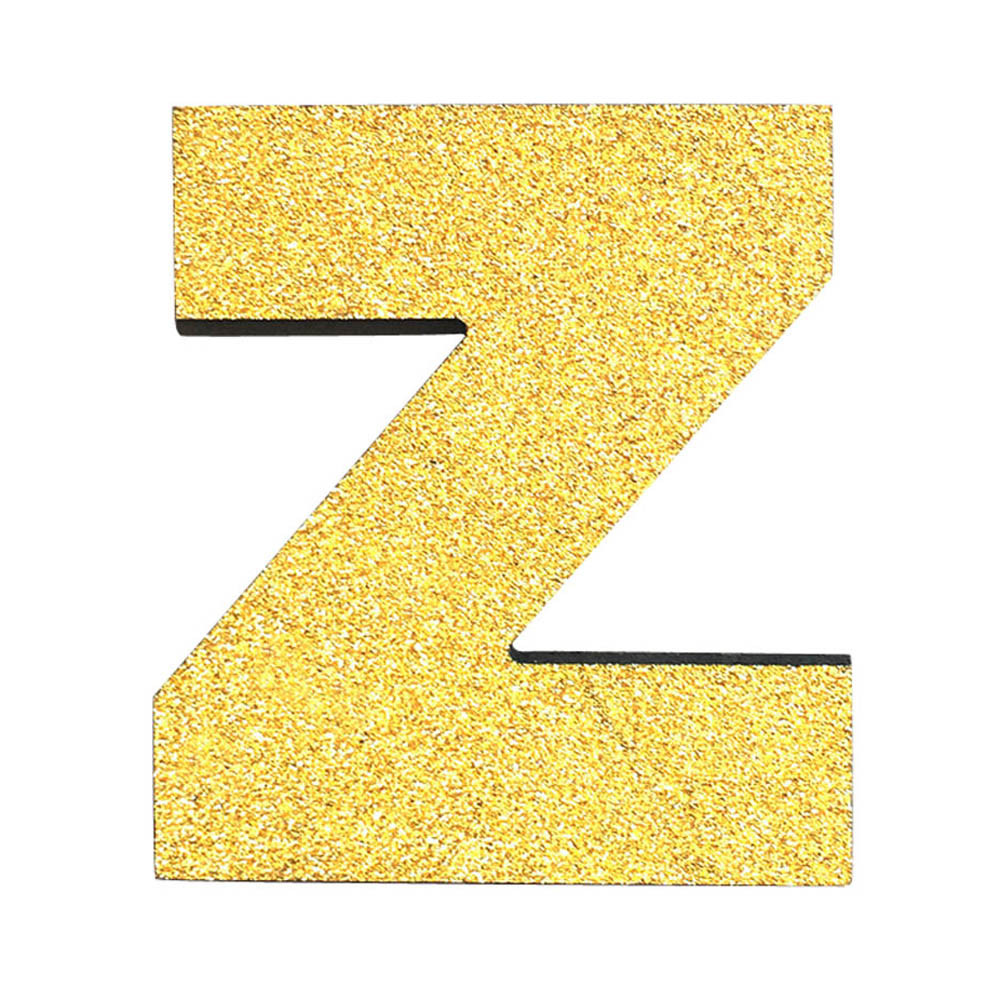 1 Piece letters Wall Stickers DIY Foam Letters Gold Alphabet Sticker ...