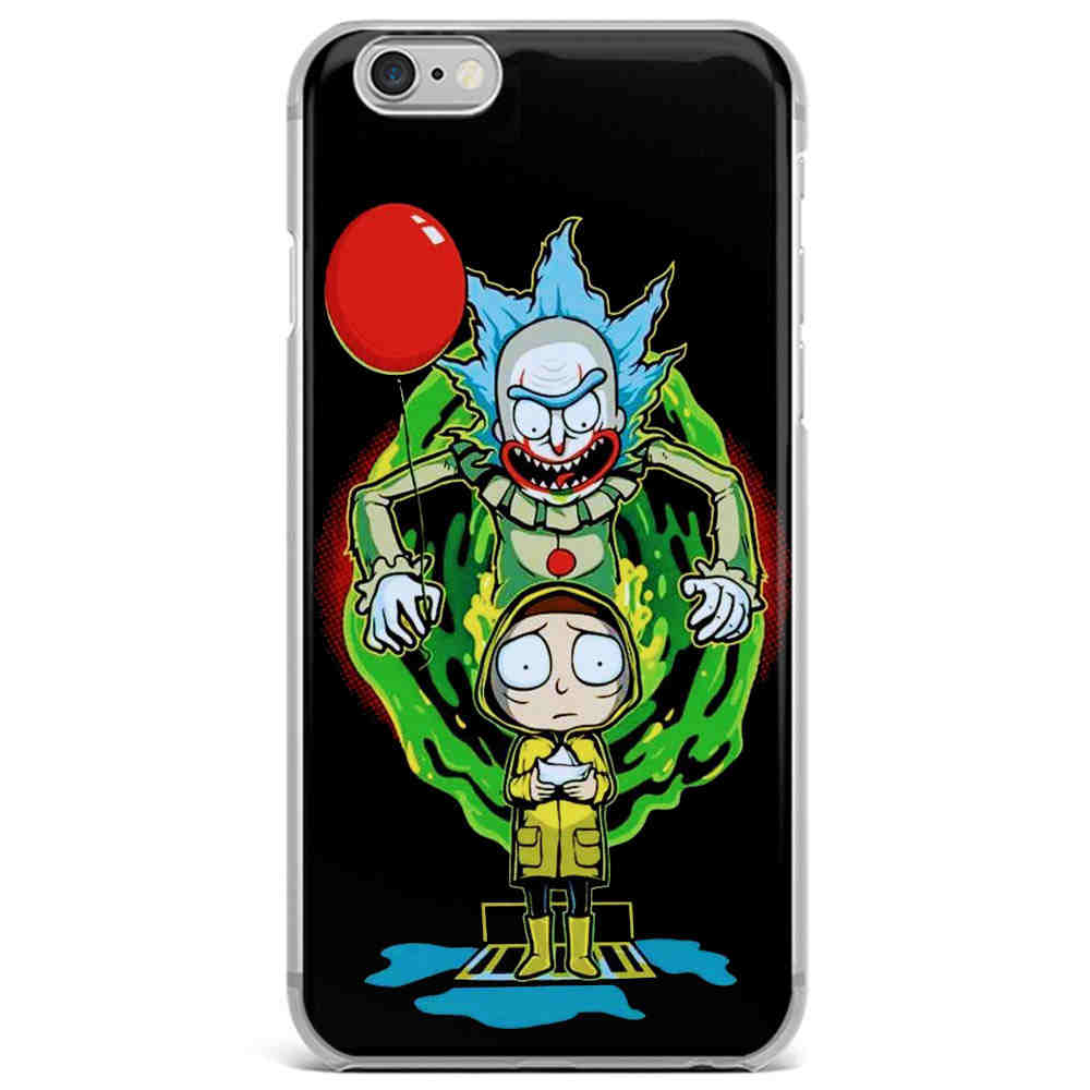 coque silicone iphone 6 rick et morty