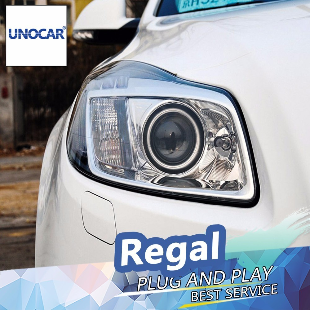 Regal Led Headlamp Us 539 2 20 Off Unocar For Buick Regal Led Headlights For Opel Insignia Head Lamp Angel Eye Led Drl Front Light Bi Xenon Lens Xenon Hid Kit In Car