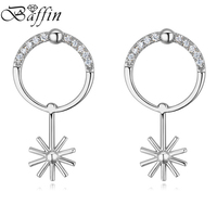BAFFIN New Fashion Drop Earrings Cubic Zircon Piercing Earrings For Women Party Accessories