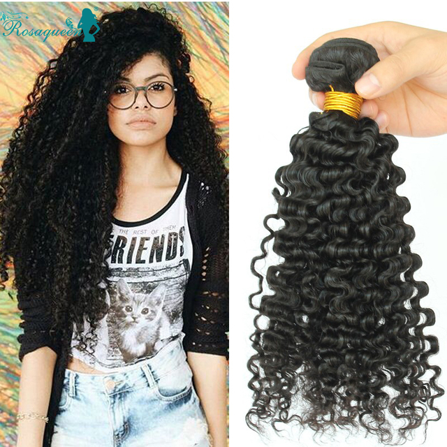 Kinky Curly Virgin Hair 4 Bundles Deals Curly Human Hair Extensions Natural Black Burmese Virgin Hair Rosa Queen Hair Products