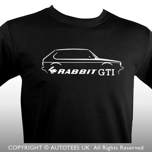 2018 Hot Sale 100% cotton Fashion GOLFS MK 1 RABBIT GTI 80s INSPIRED RETRO CLASSIC CAR T-SHIRT Tee shirt