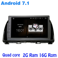 Quad Core Android 7 1 Car Radio Gps Player For Mazda 6 Atenza 2014 15 With
