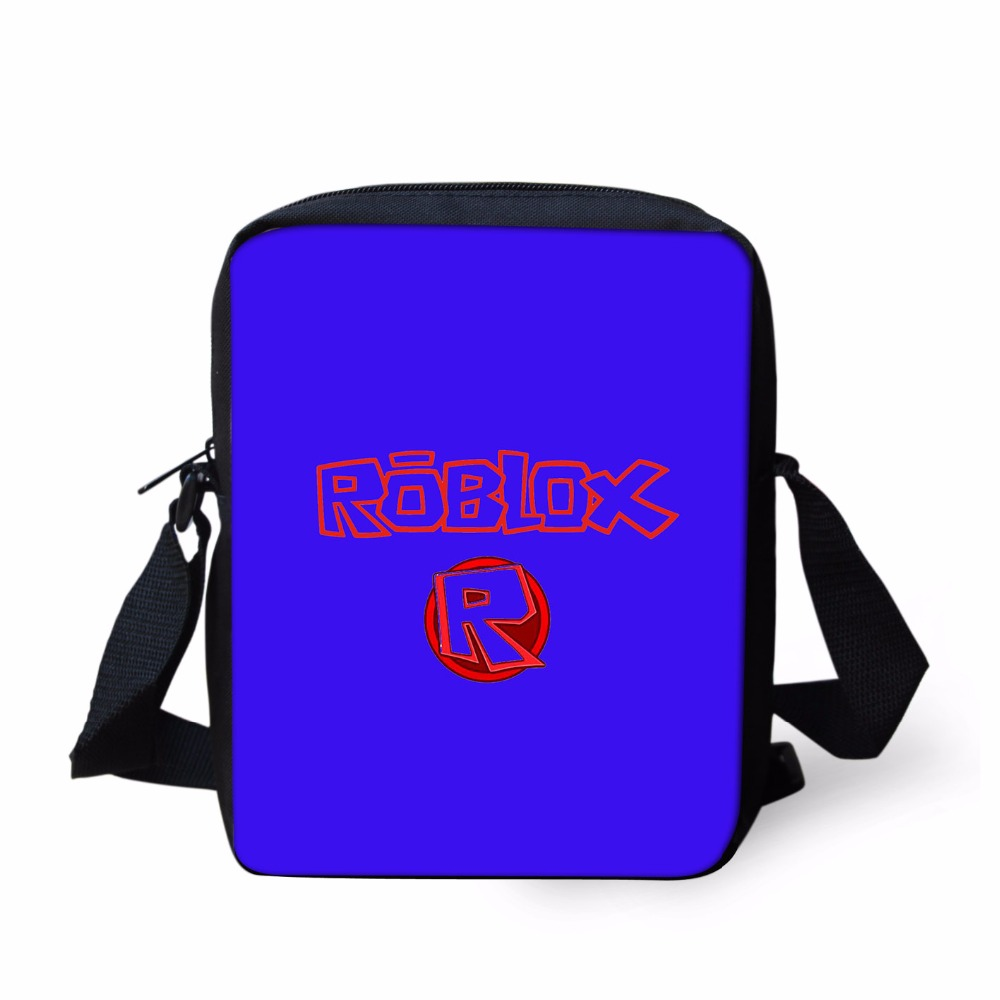 Cute Cartoon Roblox Figure Mini Children Messenger Bags 3D Printing ... 3077534adb1ac