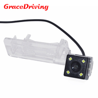 Factory direct sale Car Rear View Camera with Waterproof IP69k + Wide Angle 170 Degrees + CCD + Free Shipping ForBENZ SMART
