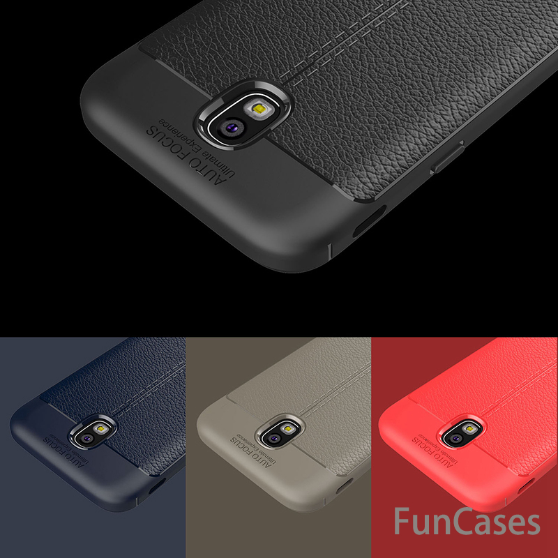 Luxury Cases For Samsung Galaxy <font><b>J3</b></font> <font><b>2017</b></font> Case TPU flip Leather Protective Back Full Cover For Samsung Galaxy J330 <font><b>J3</b></font> Case Phone image