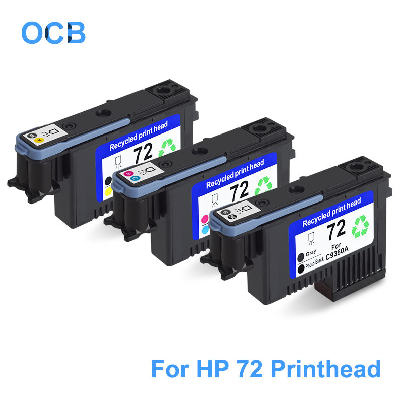 цена на For HP 72 Printhead C9380A C9383A C9384A Print Head For HP Designjet T610 T620 T770 T790 T795 T1100 T1120 T1200 T1300 T2300