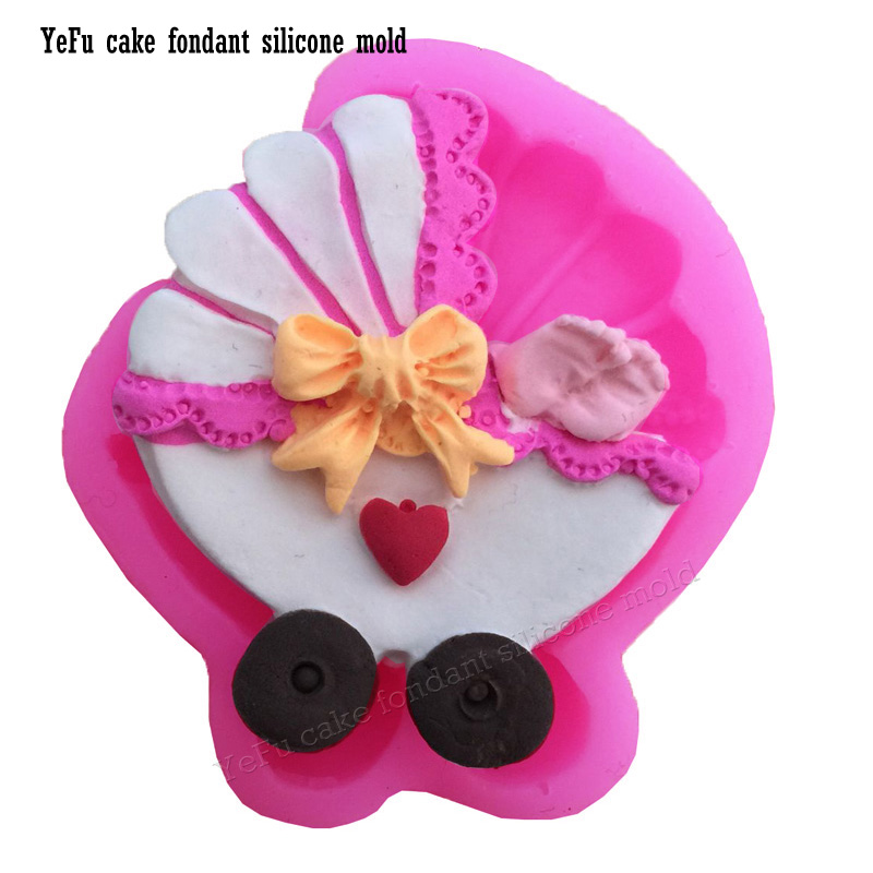 Hot Selling DIY Baby car Silicone Fondant Mold DIY Cake Decorating Tools chocolate soap mould clay/rubber T0911