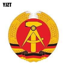YJZT 13.9 CM   14 CM Acessórios Do Carro Alemanha Brasão De Armas Decalque  Etiqueta Do Carro PVC 6-0416 c8fa652def6