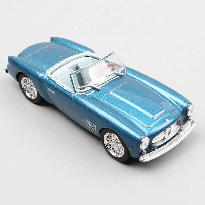 1/43 Scale LEO A6G/54 A6G 2000 Gran Turismo Spyder Zagato Roadster 1966 Grand Tourers Racing Sports Cars Metal Diecast Model Toy