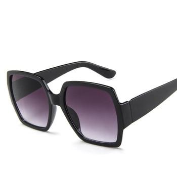 Oversized Sunglasses for Women Brand Designer Retro Sun glasses Red Green Shades Eyewear sunglasses woman