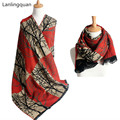 Desigual scarf luxury brand Cashmere Scarf bandana 190*65cm winter Fashion women cuadros New Designer Basic Shawls warm bufanda