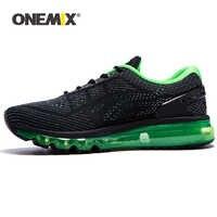 ONEMIX 2019 nuevos zapatos para correr para hombres zapatillas de deporte de marca de lujo transpirable tejido Vamp amortiguador de aire zapatos deportivos de baloncesto zapatos de gran tamaño