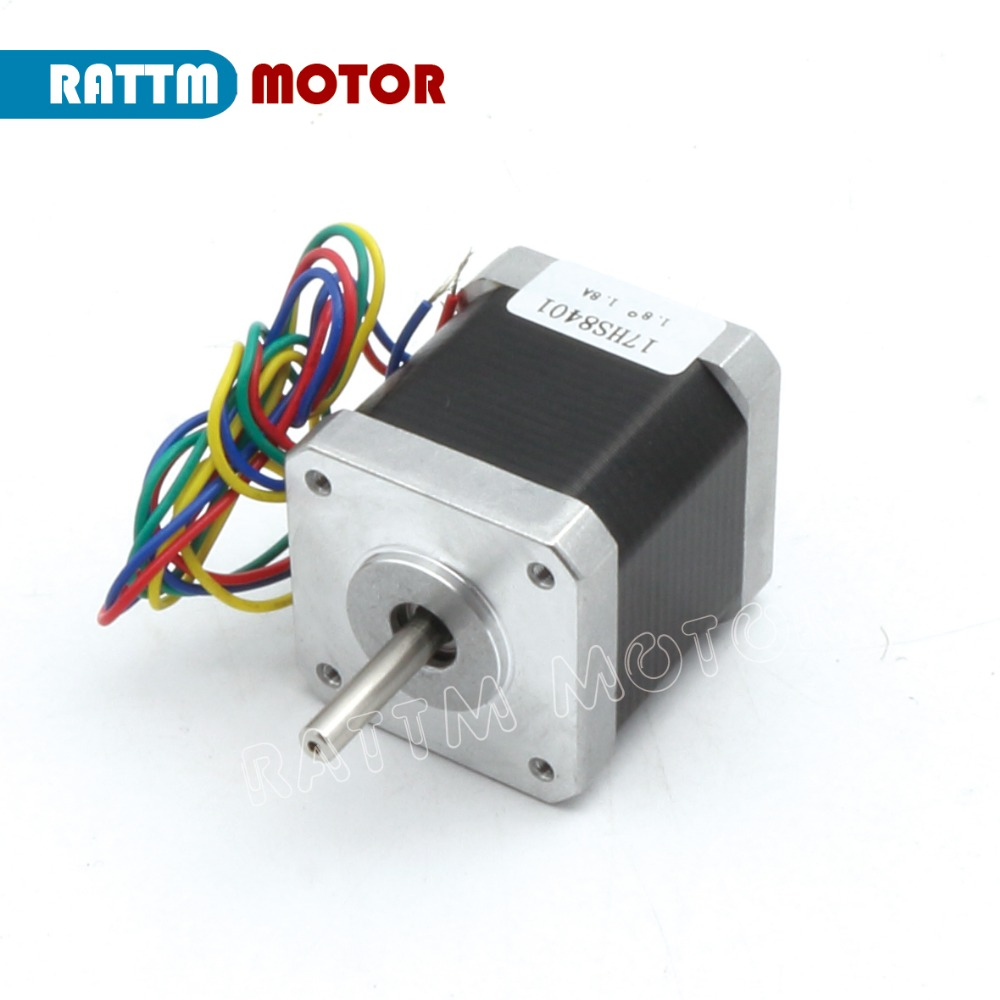5PCs Nema17 48mm CNC stepper motor 78Oz in/1.8A stepping motor Router  Milling Machine Engraver 3D Print RATTM from Reliable cnc stepper motor  suppliers on ...