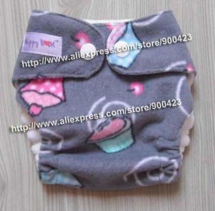 Моющиеся Новорожденные ткань пеленки 1 шт. ткань пеленки+ 1 шт. вставки - Цвет: cake K