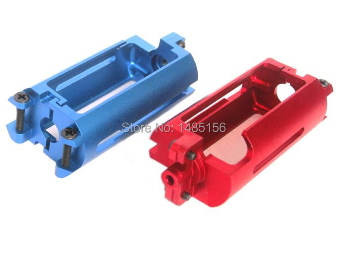 Military Action font b CNC b font 7075 Aviation Aluminum Motor Frame for AK Series Airsoft