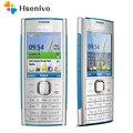 X2 Original Nokia X2-00 phone Bluetooth FM JAVA 5MP Unlocked Mobile Phone with English/Russia/Hebrew/Arabic Keyboard Free shipp