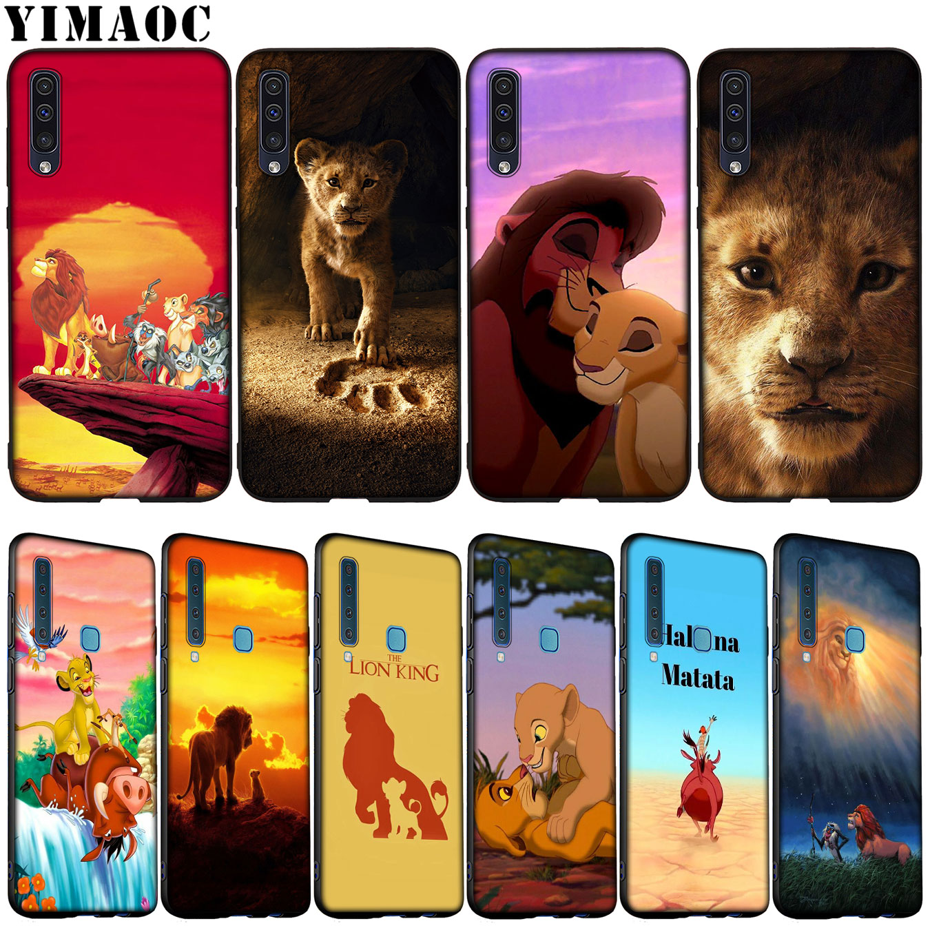 YIMAOC <font><b>Cartoon</b></font> The lion king Soft Silicone <font><b>Case</b></font> for Samsung Galaxy A70 A60 <font><b>A50</b></font> A40 A30 A20 A10 A10S A20S A30S A40S A50S Cover image