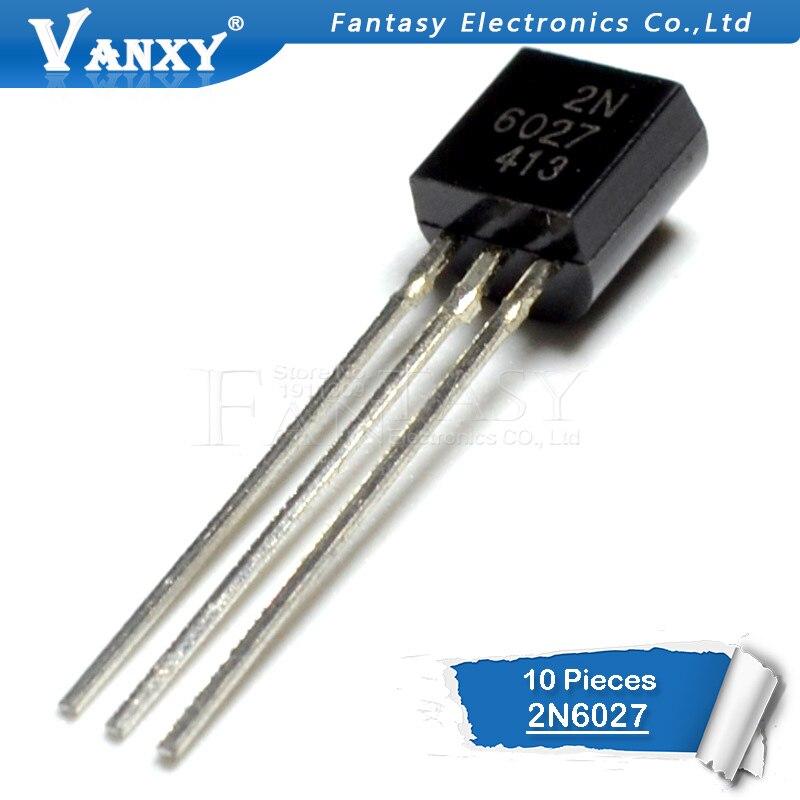 10PCS 2N6027 TO-92 6027 TO92 Transistor
