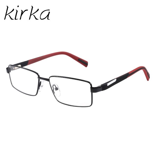93b12b3c63d Kirka 2017 New Good Design Stainless Steel Metal Full Frame High Quality  Gentleman Reading Glasses Men Eyeglasses