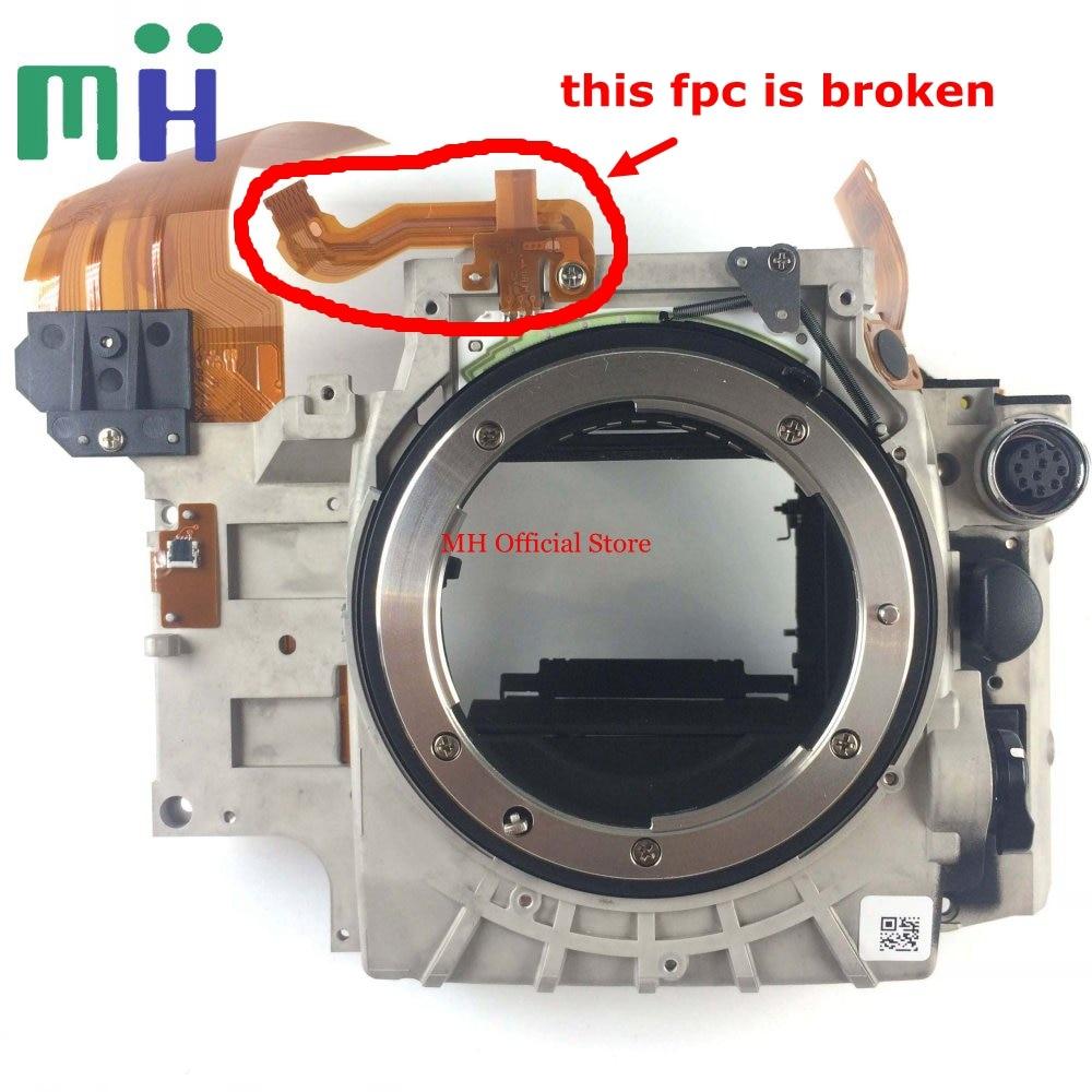 For Nikon D800 D800E Front Main Body Frame Mirror Box NO Aperture NO Mirror Camera Repair