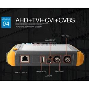 Image 3 - 5MP กล้องวงจรปิดความปลอดภัยกล้องวงจรปิด 5 นิ้ว TFT LCD Monitor สำหรับ 4 IN 1 TVI AHD CVI Analog Security CAM เครื่องทดสอบวิดีโอเสียง Test