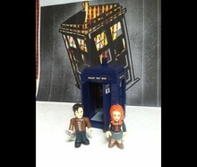 Doctor Who Tardis Figure Set