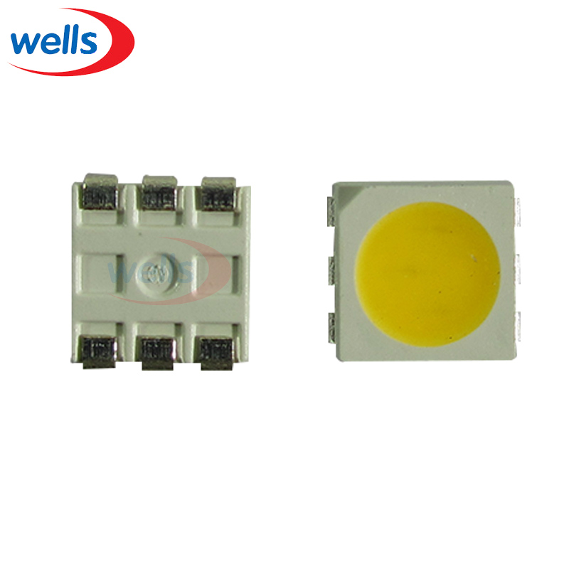 1000 Pcs Warm White Plcc-6 9~12 Lm 2700~2850k 5050 Smd 3-chips Led Bulb Strip Light Grade Products According To Quality