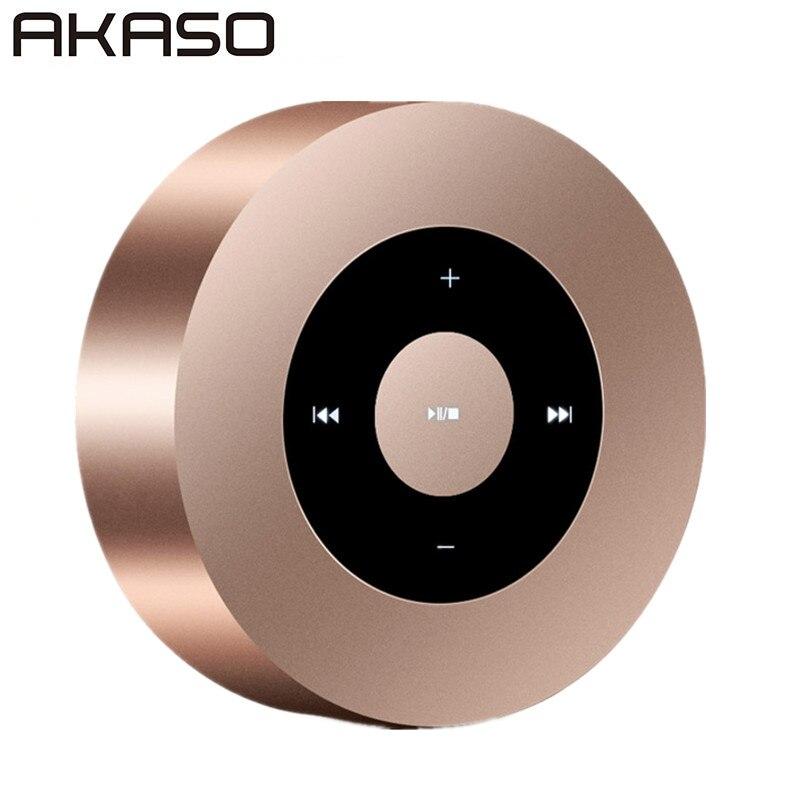 Akaso A8 Беспроводной Bluetooth Динамик для iphone Samsung MP3 Портативный аудио Поддержка 32 г карты памяти сабвуфер мини Динамик