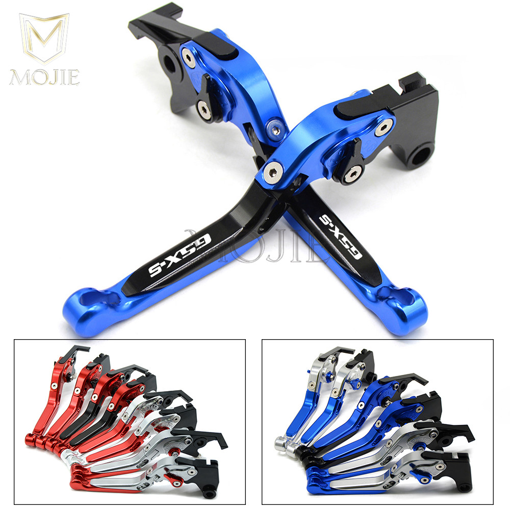 For Suzuki GSX S1000 S 1000 GSX-S1000 F ABS GSXS1000F 2015-2016 CNC Motorcycle Adjustable Folding Extendable Clutch Brake Levers цена